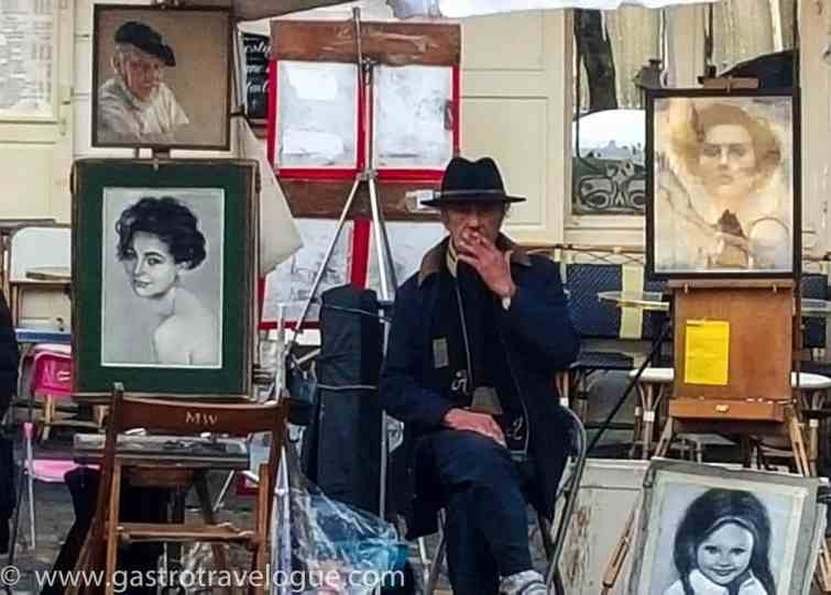 ARTISTS IN PLACE DU TERTRE