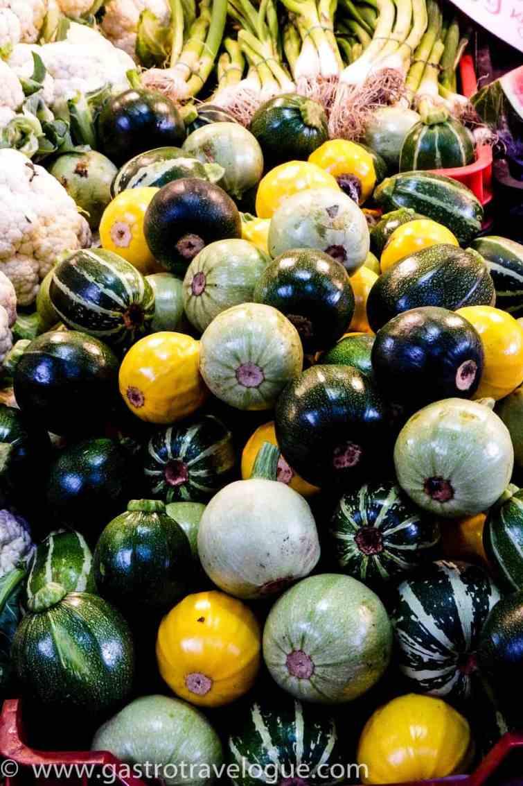 Budapest Central Market fresh produce