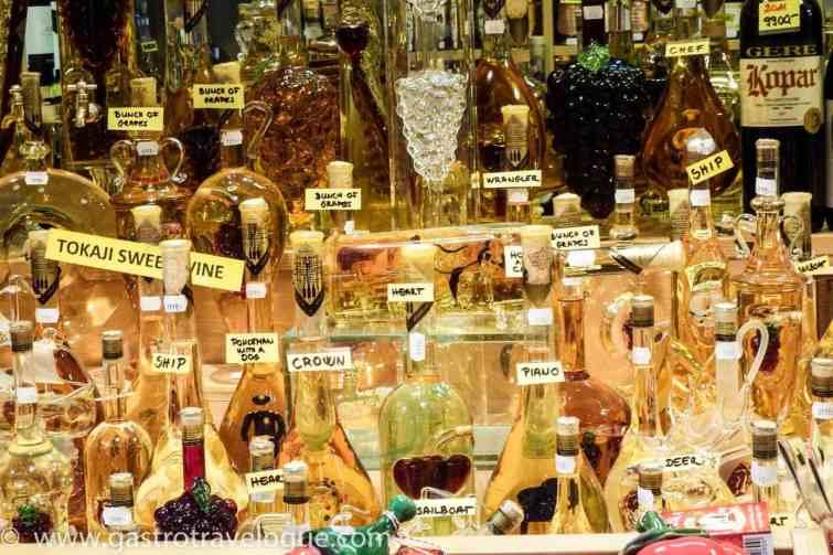 Tokay wine Budapest Central Market