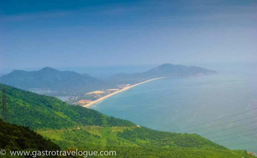 Top of the Hai Van Pass Vietnam