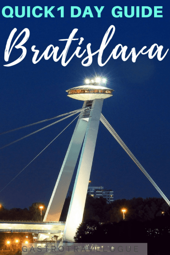 Bratislava travel guide - #bratislava #slovakia #oldtown #travel #whattodo #cityguide #travelblogger #europe #thingstodo #whattosee #sights #attractions #cumil