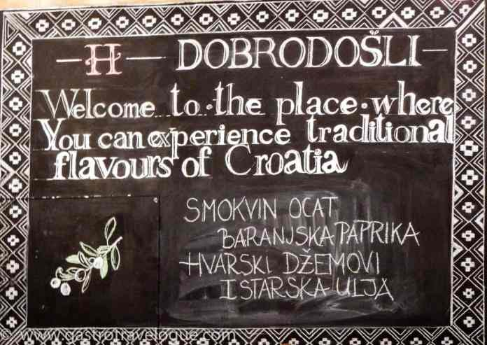 Croatian Heritage food