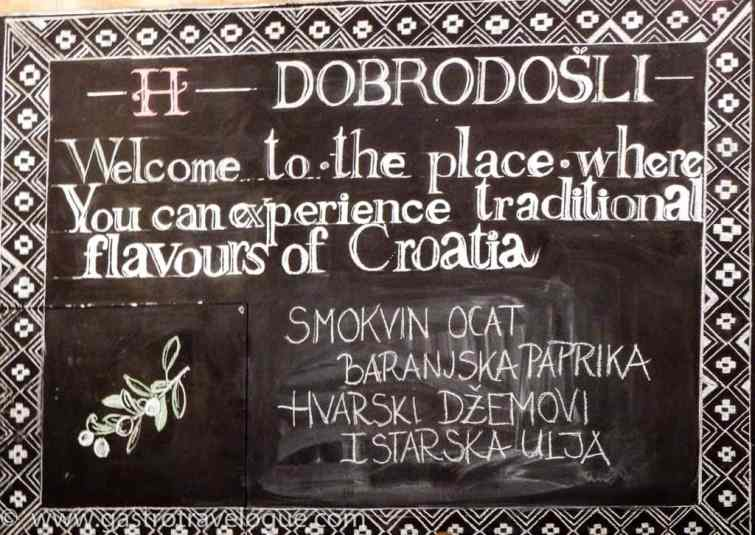 Croatian Heritage food