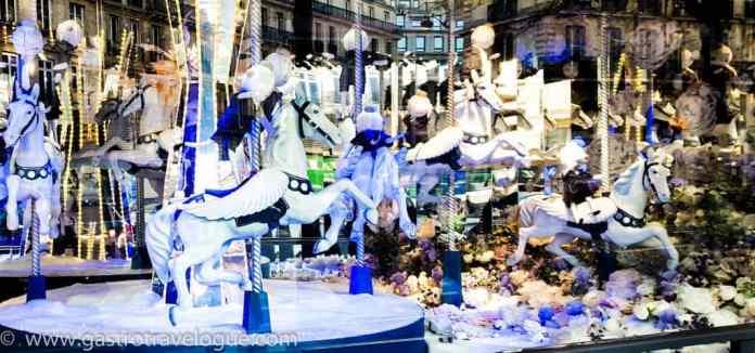 Galleries Lafayette Paris Christmas Window Display
