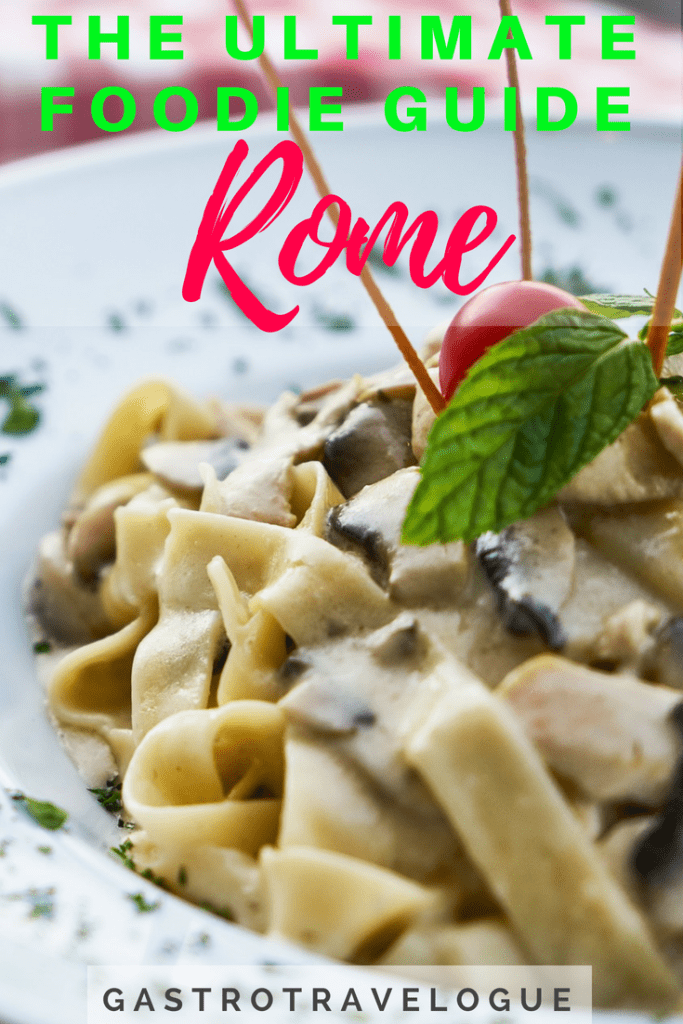 If you want to taste the best that Rome has to offer then this is exactly what you need. My ultimate foodie guide to Rome- #baccalà | #rome | #foodie | #italy | #spaghetticarbonara | #bucatini | #cacio epepe | #carciofi | #artichokes | #pizza | #pizzabianco | #gelato | #markets | #campode'fiori | #testaccio | #travelblogger | #cityguide | #italie | #roma | #markets | #roma | #italie | #pasta | #foodieblog