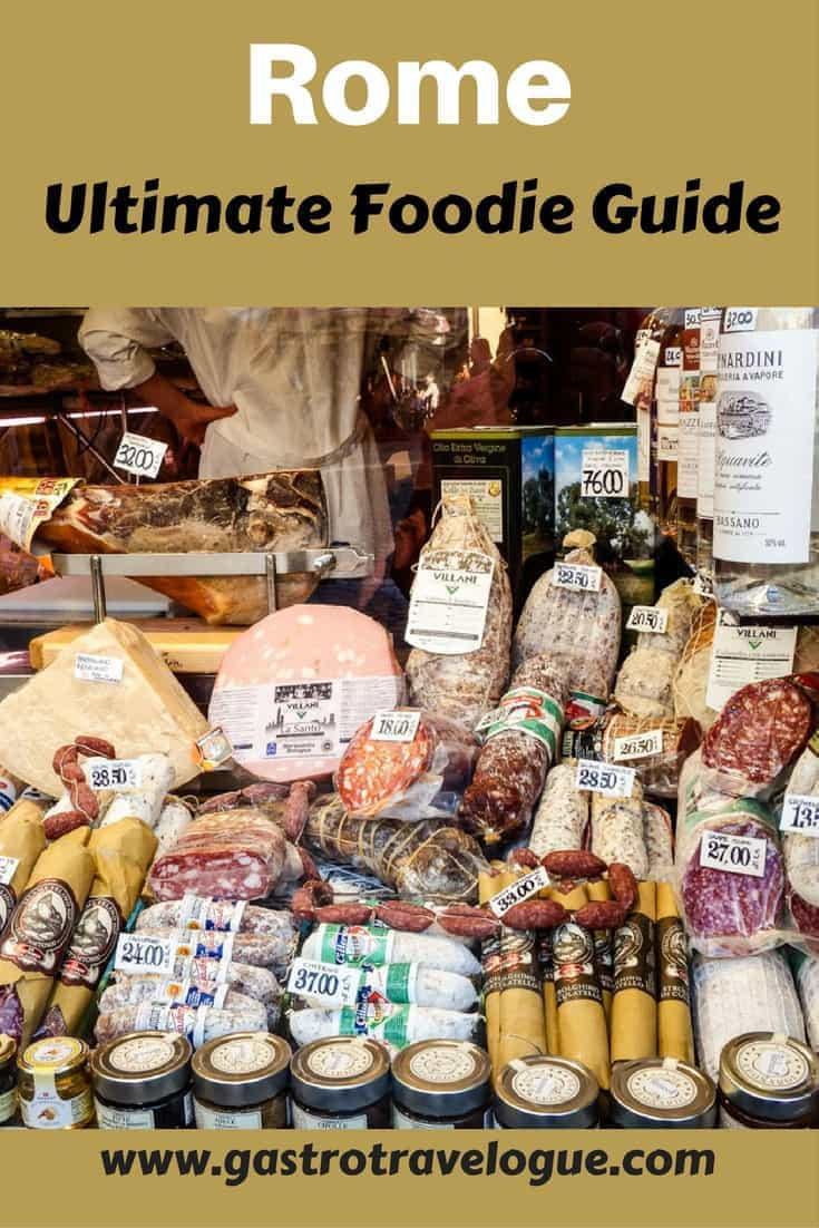 The Ultimate Foodie Guide for Rome