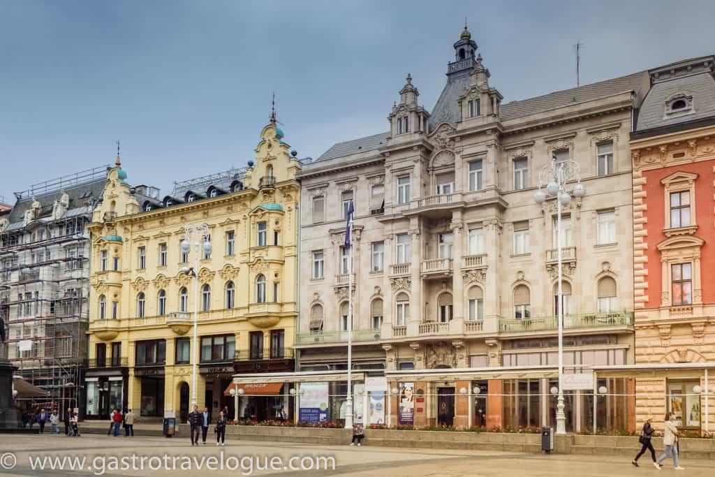 Trg Bana Jelacica Zagreb