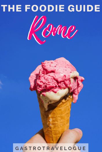 My ultimate foodie guide to Rome is exactly what you need if you love Italian food - #baccalà #rome #foodie #italy #spaghetticarbonara #bucatini #carciofi #artichokes #pizza #pizzabianco #gelato #markets #campodefiori #testaccio #travelblogger #cityguide #italie #roma #italie #pasta #foodieblog #rome #travel
