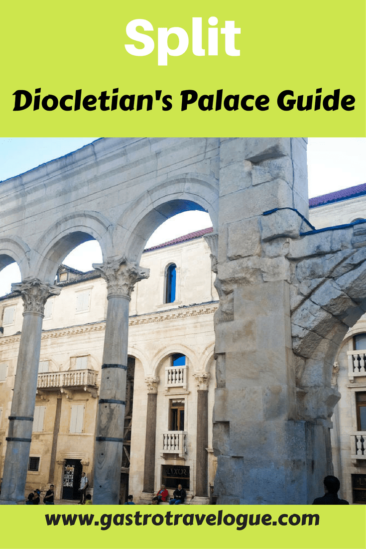 Diocletian Palace Guide Split Croatia