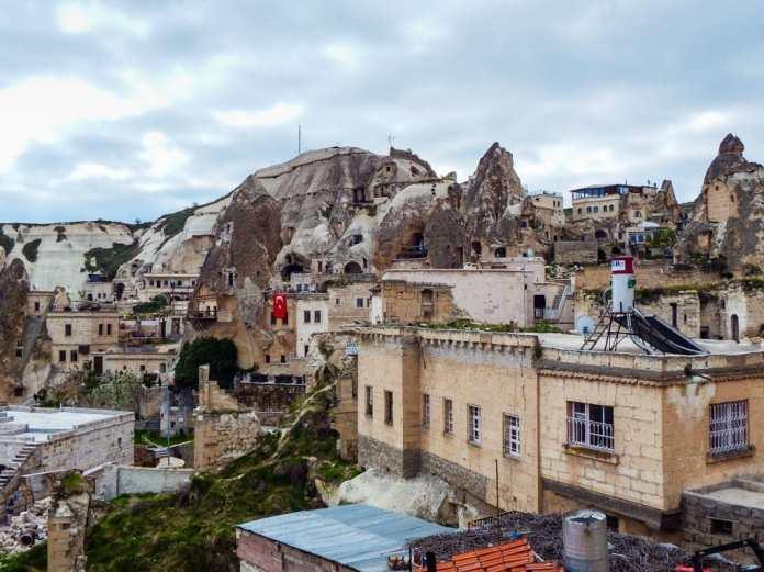 Goreme town Cappadocia