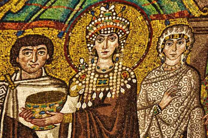 Empress Theodora - San Vitale Mosaic in Ravenna