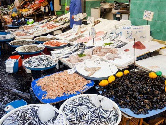 Market in Naples