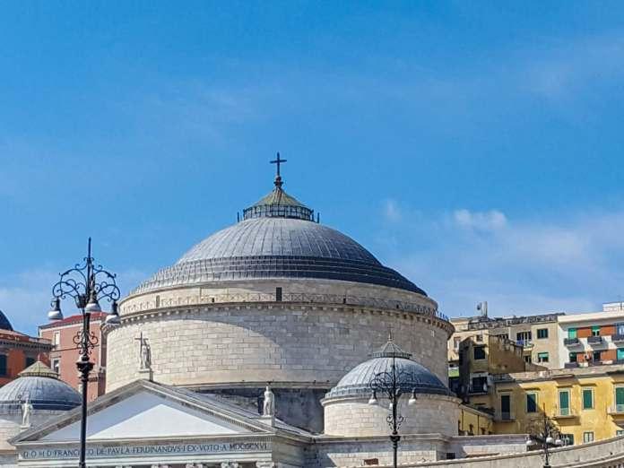 Rooftops Piazza del Plebiscito Naples
