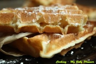 Gaufre crocanti di Michalak - Cooking - My Baby Planner