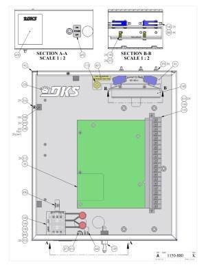 Replacement Parts Diagram  DoorKing 1150 Parts Diagram