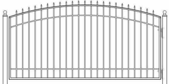 swing gate scheme
