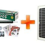 Mighty Mule FM350-SINGLE Gate-Solar Package with Solar Panel Review