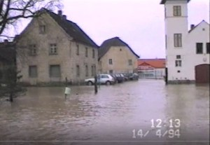 Hochwasser 1994 – Privates Video 2