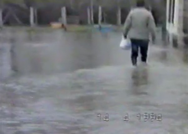 Hochwasser 1994 – Privates Video 3