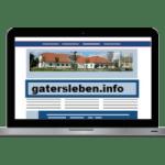Gatersleben blog logo website webseite homepage