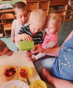 """""""Tag der kleinen Forscher"""" in der Kindertagesstätte in Gatersleben im Juni 2020"""