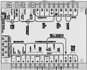 Liftmaster Boards, Liftmaster Circuit Boards, Liftmaster Control Board