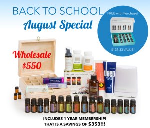 Back to School August Promo