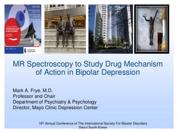 Bipolar Depression Neurobiology