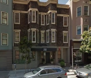 Street view of 211 Gough Street