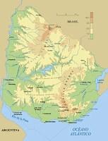 Mapa del Uruguay
