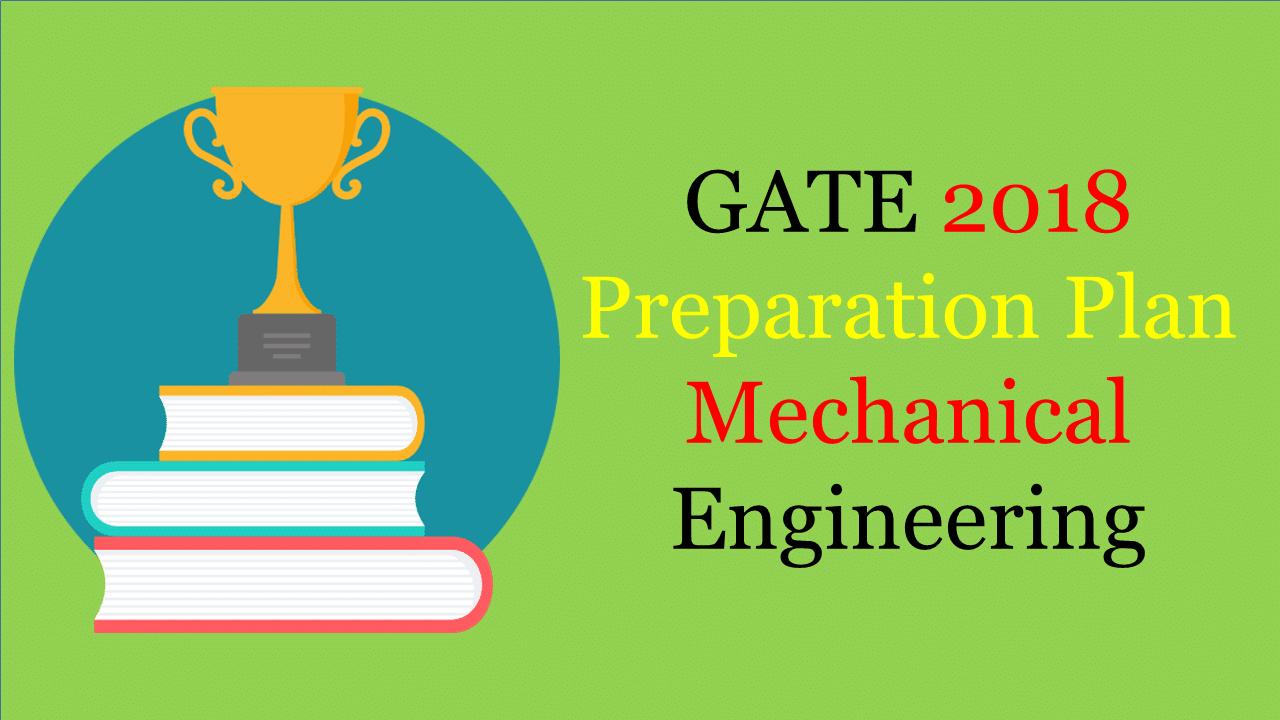 GATE 2018 Preparation Plan