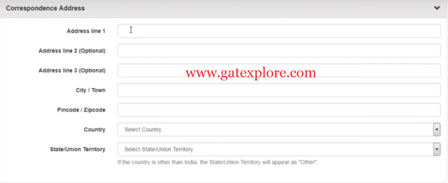 How to Fill GATE 2019 Online Application Form