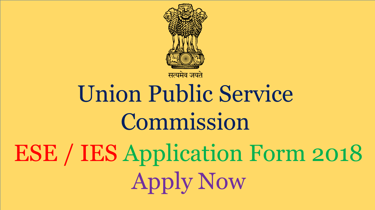ESE application form 2018