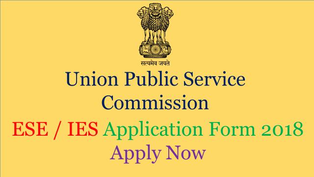 ESE application form 2018