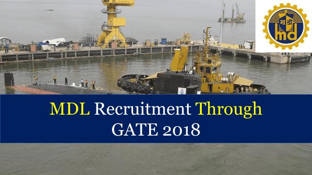 MDL Recruitment Through GATE 2019