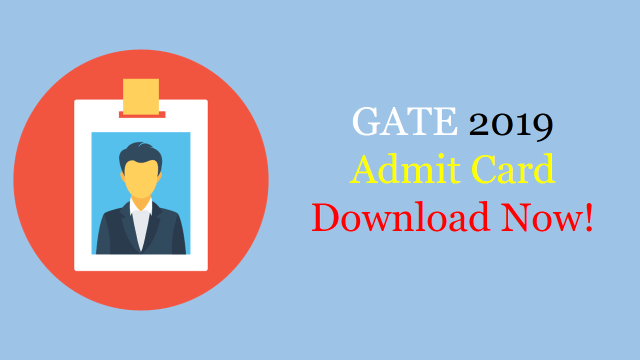 GATE Admit card download