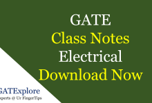 gate class notes electrical