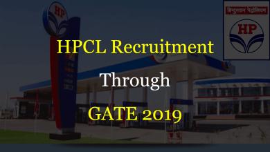 Photo of HPCL Recruitment Through GATE 2020