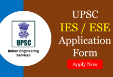 Photo of IES/ESE 2021 Application Form Registration