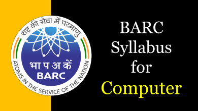Photo of BARC Syllabus for Computer Science 2020