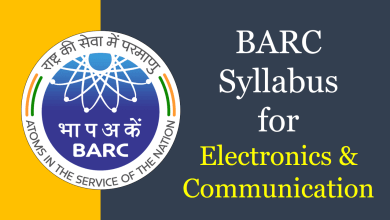 Photo of BARC Syllabus for Electronics & Communication 2020