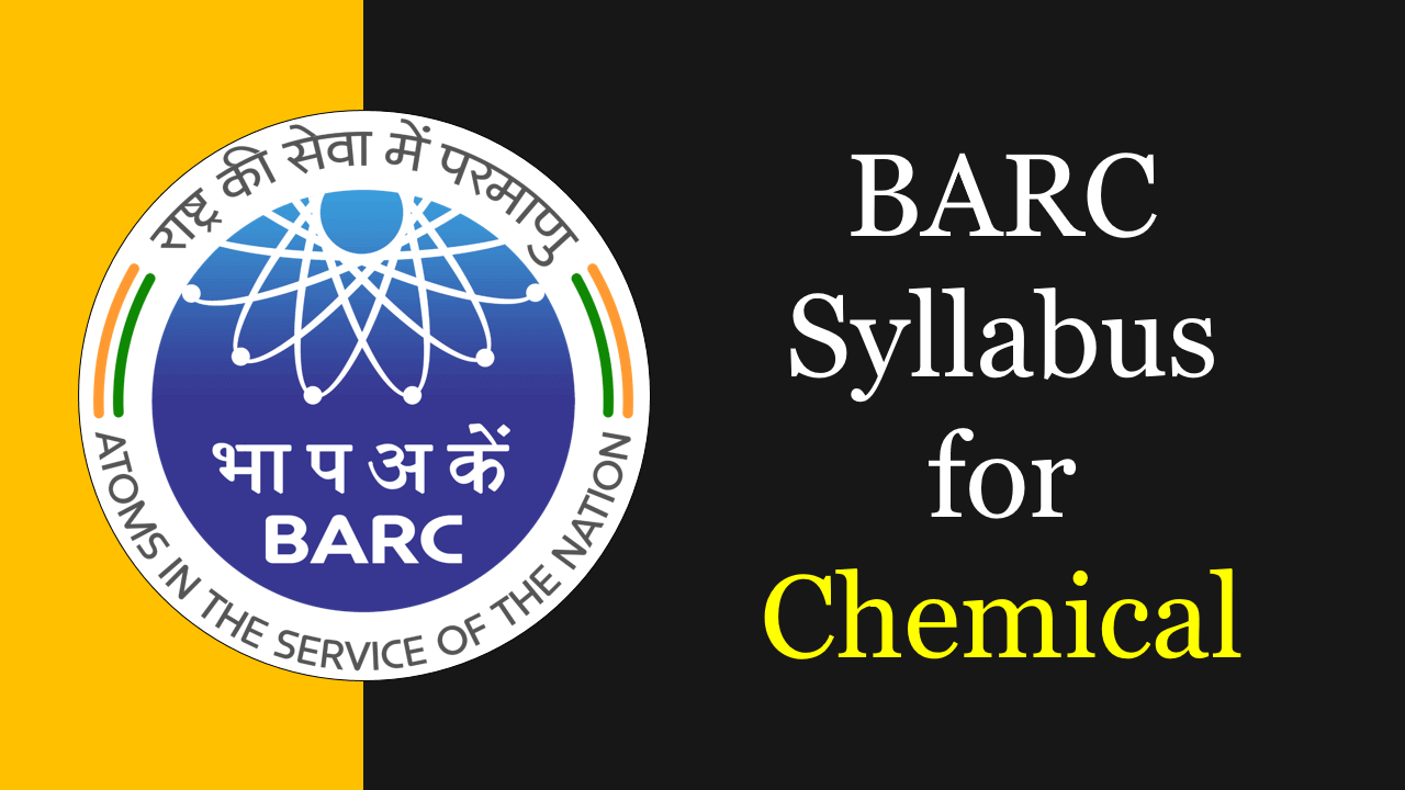 BARC Syllabus for Chemical
