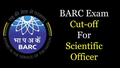Photo of BARC Scientific Officer Cutoff