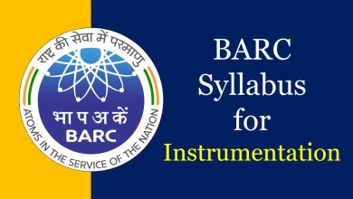 Photo of BARC Syllabus for Instrumentation 2020