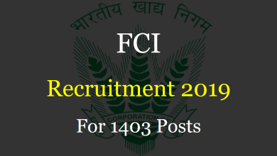 Photo of FCI Recruitment 2019