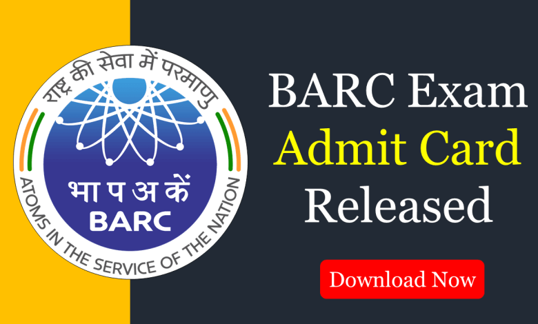 barc 2020 admit card
