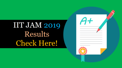 Photo of IIT JAM 2019 Result OUT