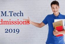 Photo of M.Tech Admissions 2019