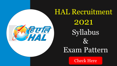 HAL Design & Management Trainee 2021 Syllabus