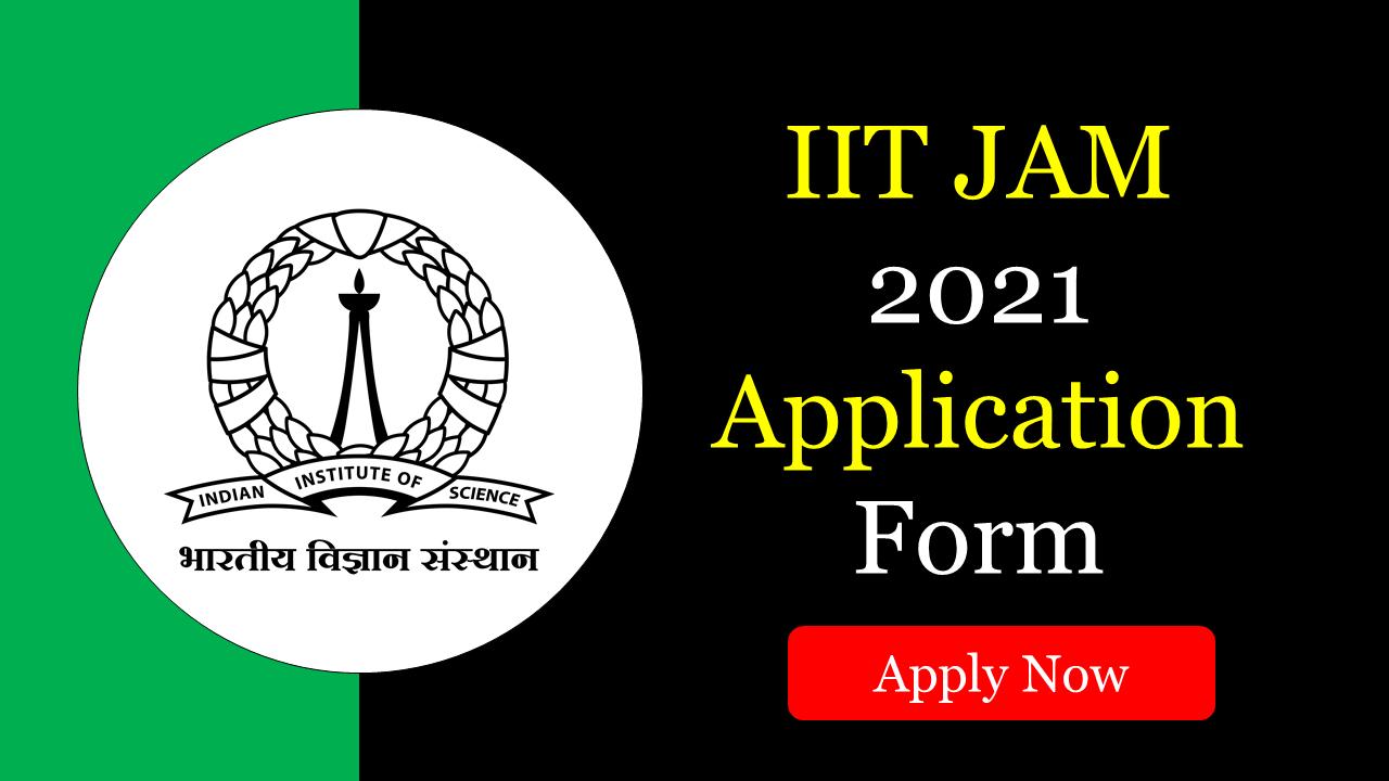 IIT JAM 2021 Application/Registration Starts